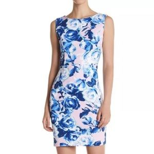 NWT Betsey Johnson Size 14 Floral Sheath Dress